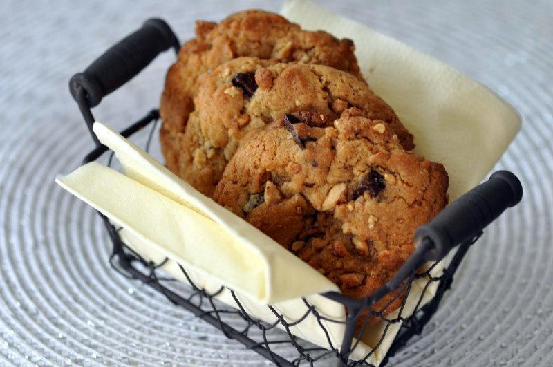 Cookies Américains aux cacahuétes caramélisées
