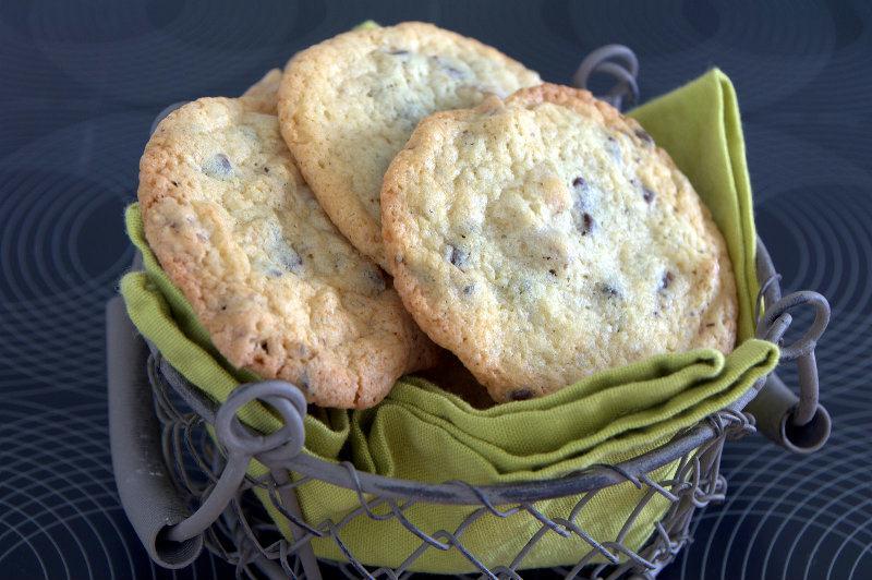 Cookies aux noix et pépites de de chocolat