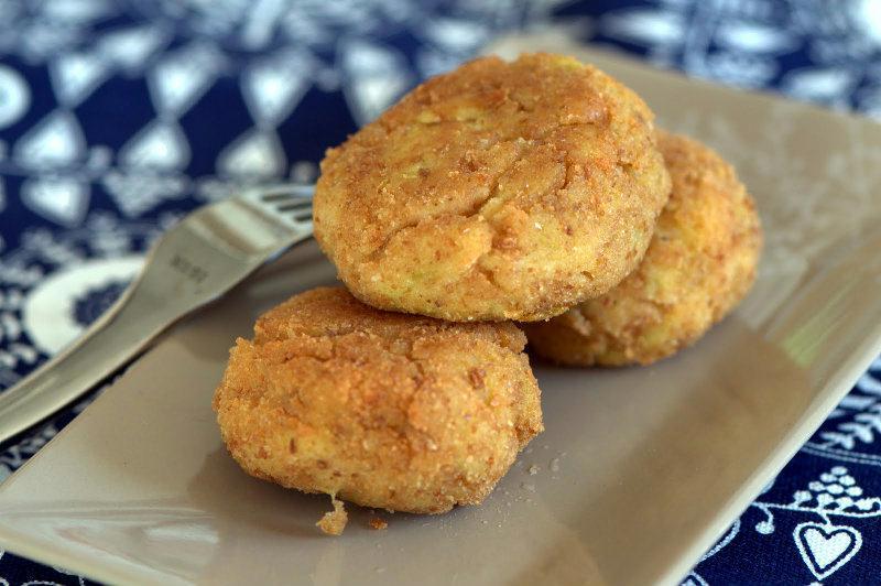 Croquettes de légumes: Poireaux et Pommes de terre