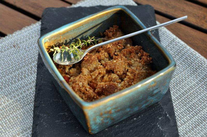 Crumble de Ratatouille