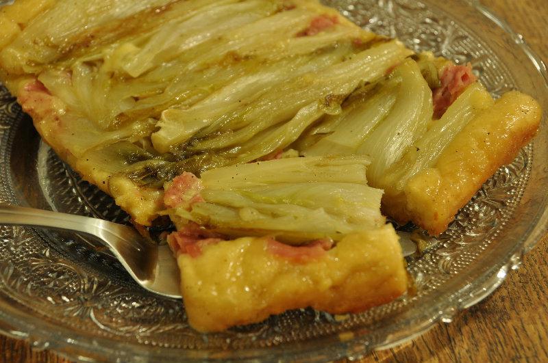 Recette endives au jambon fa on tatin - Recette endives au jambon ...