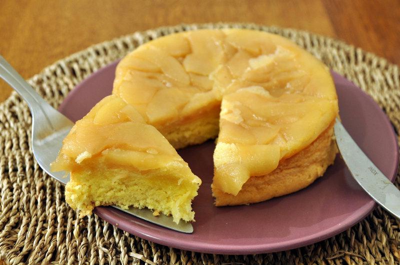 Gâteau de Savoie façon Tatin