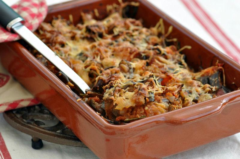 recette gratin d 39 aubergines au parmesan. Black Bedroom Furniture Sets. Home Design Ideas