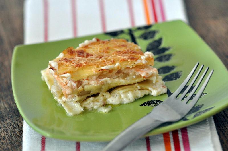 Lasagne saumon fenouil