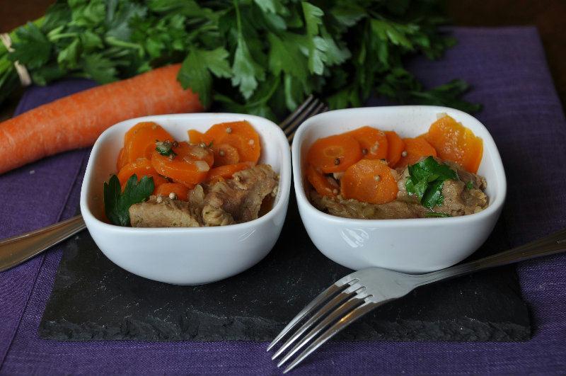 Mijoté de Veau aux carottes