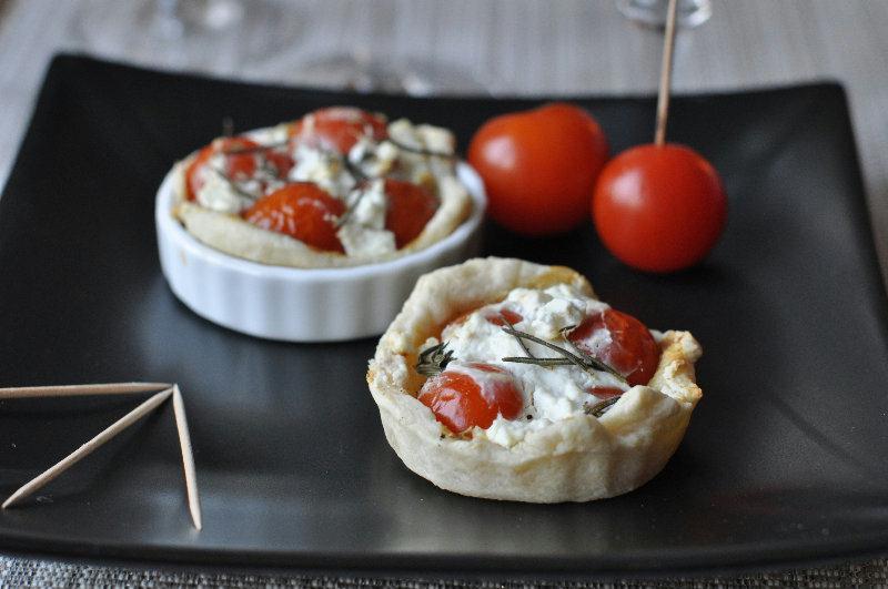 Mini tartelette aux tomates