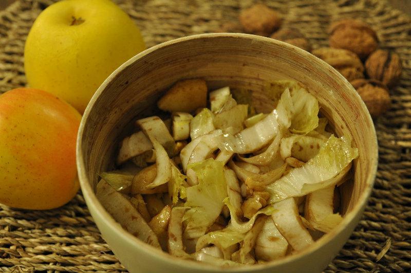 Salade d'endives à la pomme