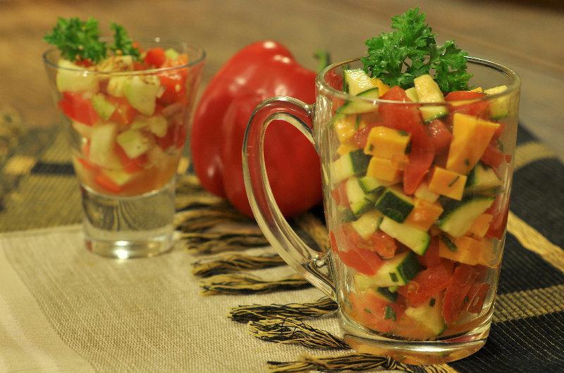 Salade trois couleurs