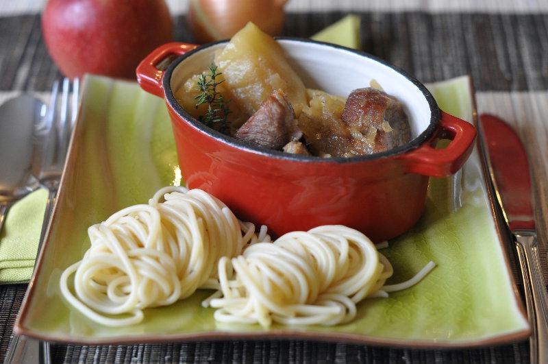 Sauté de Porc aux Pommes