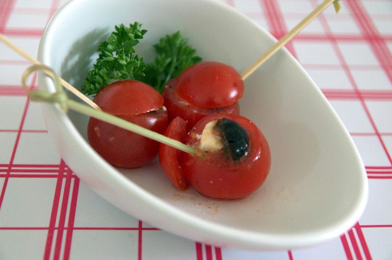 Tapas de Tomates cerises