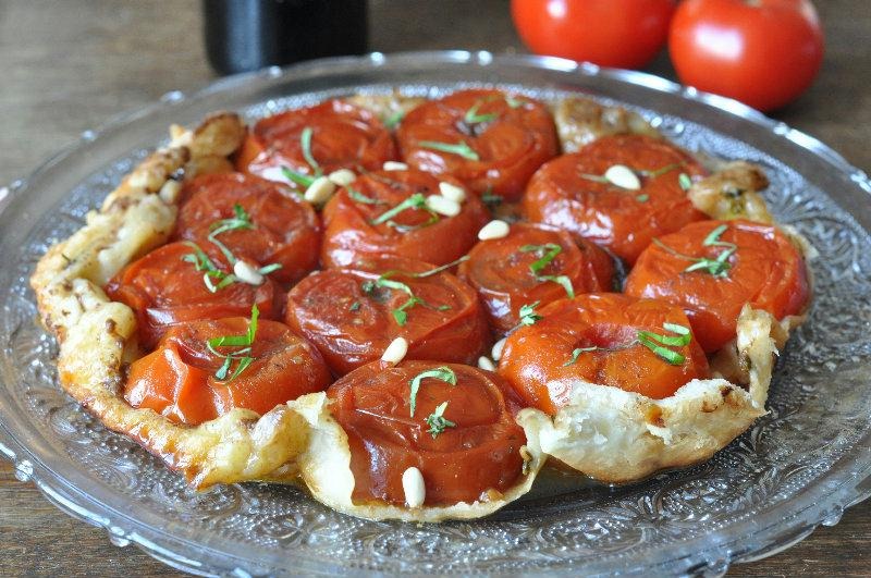 recette tarte tatin aux tomates. Black Bedroom Furniture Sets. Home Design Ideas