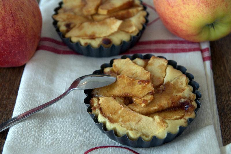 Tartelettes de pommes aux amandes